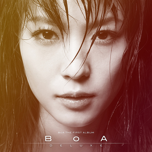 BoA's repackaged album